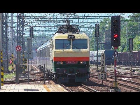 Stacja ČD Český Těšín - kilkanaście pociągów | 25.06.2019 |