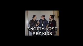 Snotty Nose Rez Kids on Unpeeled