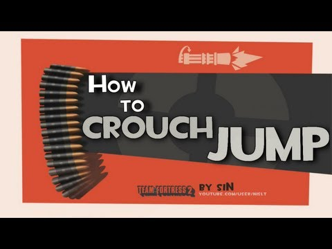 TF2: How to crouch jump