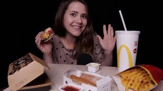 ASMR McDonalds MUKBANG | 🇦🇹 Edition *eating sounds* [deutsch/german]
