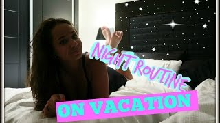 Night Routine On Vacation | Lady Domisha