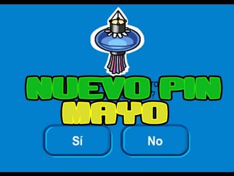 Club Penguin : Nuevo Pin / Mayo 2013 / Farol de Papel