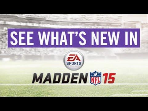 Madden 15 Live Stream - Presentation and Graphics
