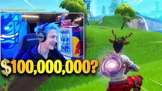Ninja Talks About His Net Worth LIVE On Stream! *$100,000,000*? | Fortnite Highlights
