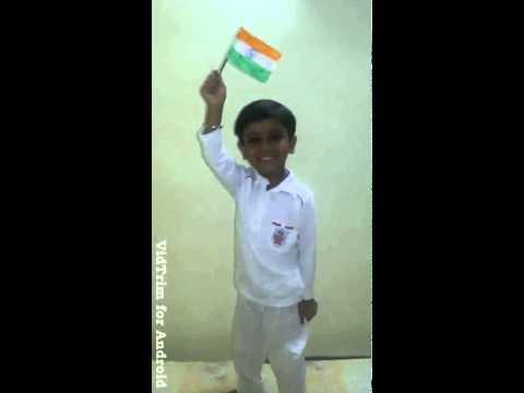 Jai Hind Bharat Mata ki Jai by Aarush from Padpadganj East Delhi...