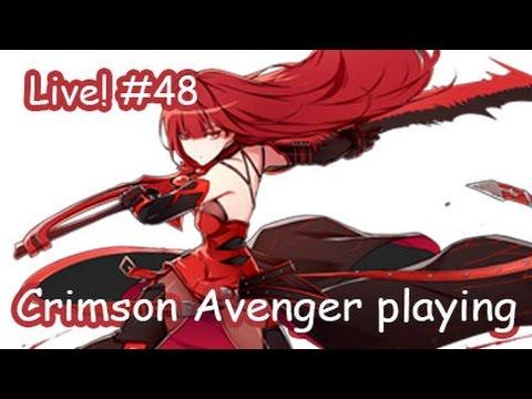 [Elsword KR] Crimson Avenger Playing : Live streaming #48