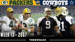 Crucial Clash for 1st Place in NFC! (Packers vs. Cowboys 2007, Week 13)