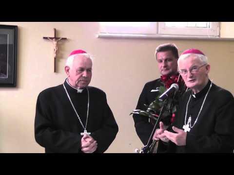 Ogłoszenie Nominacji Ks. Biskupa Edwarda Janiaka Na Biskupa Kaliskiego