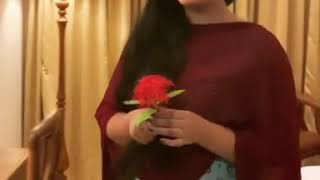 Anu Sithara latest video | Anu Sithara new video with beautiful expressions