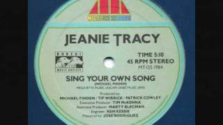 Sing your own song Patrick Cowley & Jeanie Tracy.