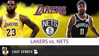 Lakers vs. Nets Live Streaming Scoreboard & Live Chat | Lakers Preseason Schedule