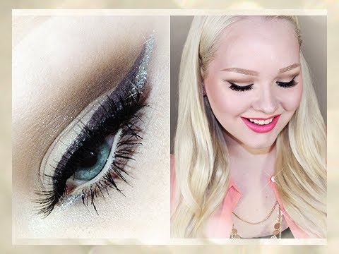 Picture Perfect for Prom: Natural, Glitter & Bright Lips - Makeup Tutorial