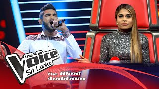 Stephan Shevon - Desperado | Blind Auditions | The Voice Sri Lanka