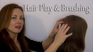 *-* Binaural ASMR Relaxing Hair Play & Brushing *-* Ear to Ear
