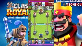 Clash Royale - Dünya 6. VS Dünya 30.