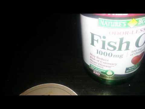Nature Bounty FIsh oil review