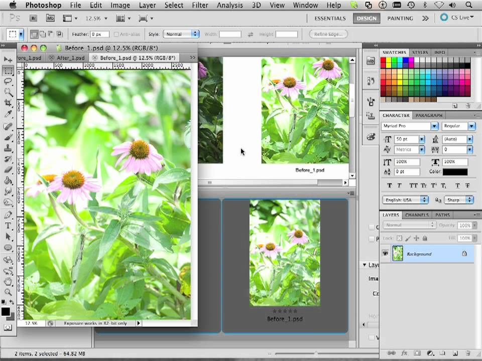 how to create a contact sheet in photoshop cs5