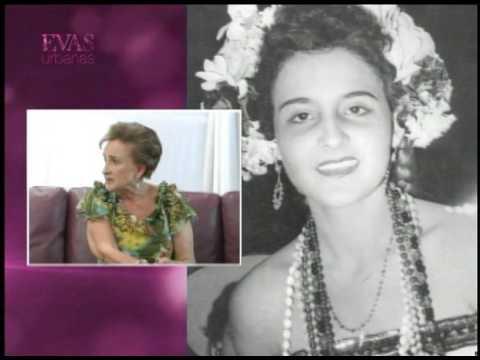 Las confesiones de Eva con Rosa Argentina Lacayo Rivas 1era Miss Nicaragua 1955