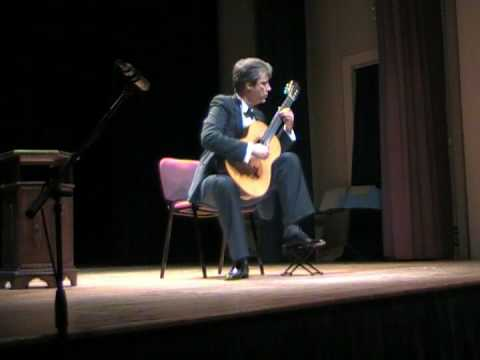 Bruno Giuffredi plays Etude no. 8 by Heitor Villa-Lobos