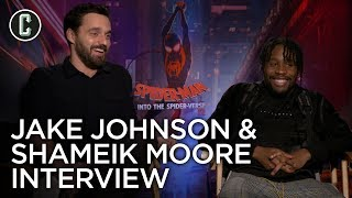 Spider-Verse: Shameik Moore and Jake Johnson Interview