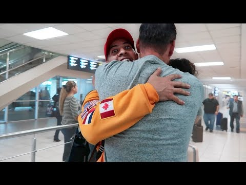 AUSTIN MEETS MY DAD FOR THE FIRST TIME!!!