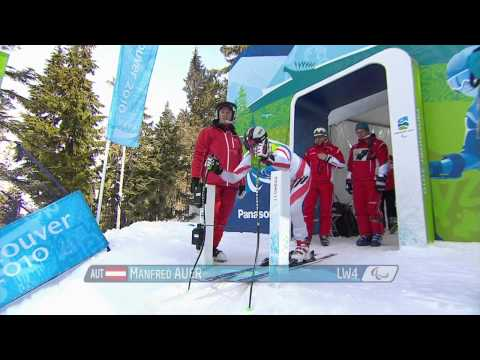 Super-G - alpine skiing - Vancouver 2010 Paralympic Winter Games