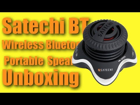 Satechi BT Wireless Bluetooth Portable Speaker Unboxing