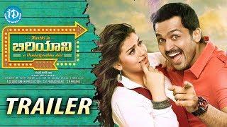 Karthi's Biryani Telugu Movie Trailer - Karthi - Hansika Motwani - Premji Amaren