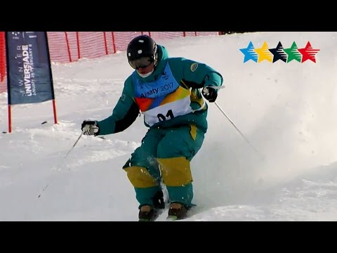 Freestyle Skiing Men's Moguls - 28th Winter Universiade 2017, Almaty, Kazakhstan