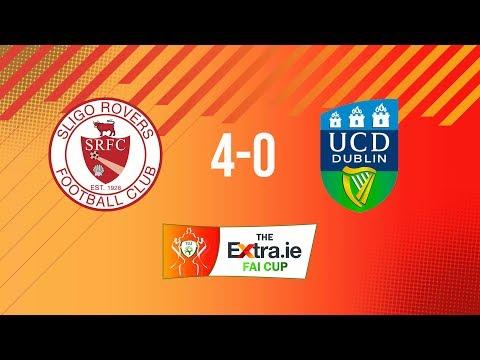 Extra.ie FAI Cup Quarter Final: Sligo Rovers 4-0 UCD