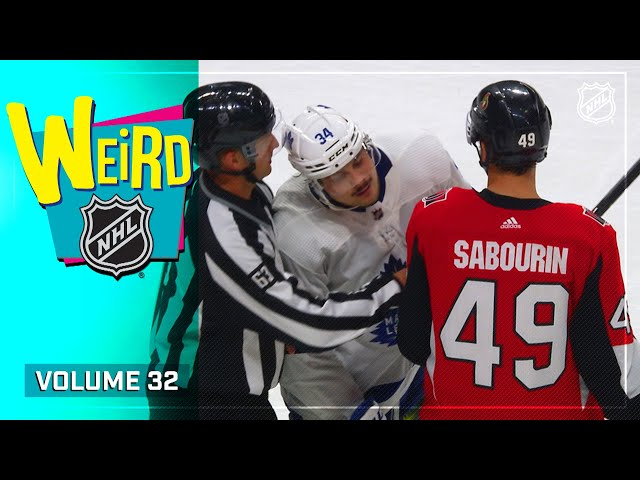 Back for Season 3!  Weird NHL Vol. 32