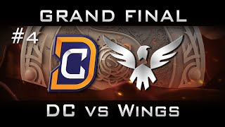 DC vs Wings Grand Final The International 2016 TI6 Highlights [Game 4] Dota 2