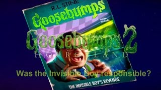 Goosebumps Video: Sequel Talk and Where Invisible Boy Was Responsible?