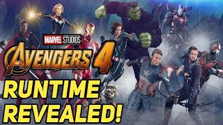 Avengers 4 Runtime Revealed by Russo Brothers!