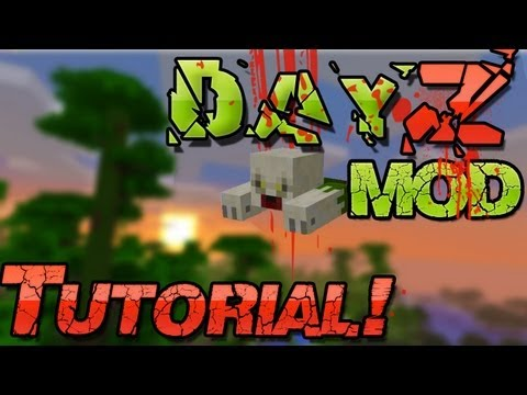 DayZ Minecraft 1.6.4 Mod INSTALLATION - Pc + Mac [Deutsch German] - Zombie Suvival ;)