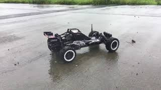 RC Car with petrol engine