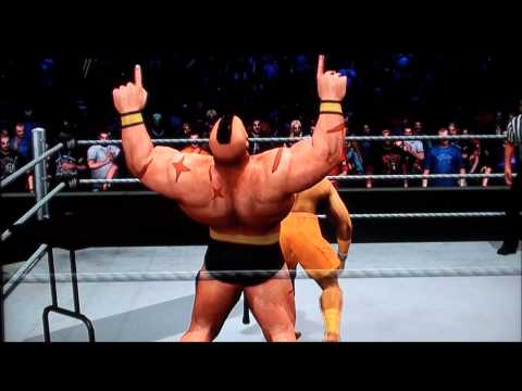 WWE SmackDown Vs. RAW 2011 - Street Fighter CAW Trailer -
