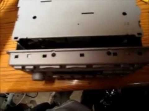 Ford 6 CD In Dash Stereo Changer Mechanism Removal