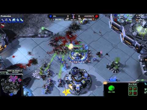 IEM Toronto - TvZ Flash vs Snute g1 - Starcraft 2 HD 1080p polski komentarz