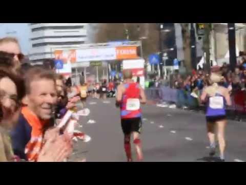 Marathon de Rotterdam 2015 Mika courir