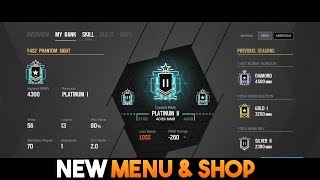 NEW Menu & Shop ! Operation Phantom Sight | RB6