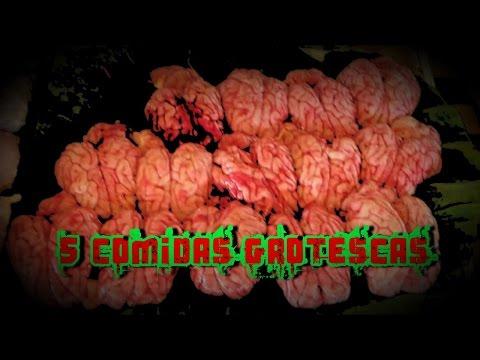 5 COMIDAS GROTESCAS | DavoValkrat