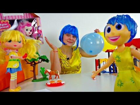 Видео для детей -  Радость из Головоломки и радости жизни