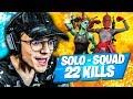 Jéclate tout le monde en Solo Squad