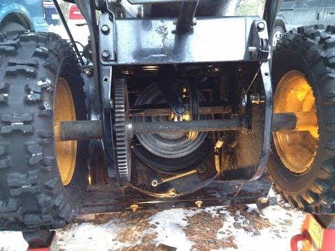 yard machine snowblower repair