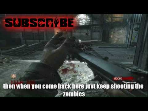 Call Of Duty 5 (WaW) Der Riese Nazi Zombies How to get to Level 100 (100% Works) Tutorial