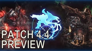 Starcraft II: Patch 4.4 Preview
