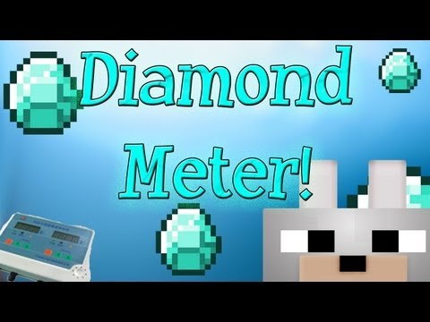 Minecraft Mods - Diamond Meter 1.2.5 Mod Review and Tutorial