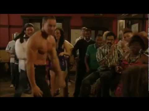 Kieran Hayler EastEnders strip - Christian's stag do