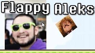 Flappy Aleks ( Flappy Bird Fan Game ) w/ Nova & Aleks' Reaction